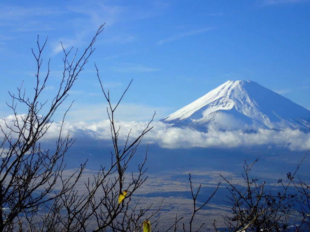 箱根、富士山
